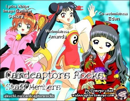 Click here to go to Cardcaptors Rocks's staff page