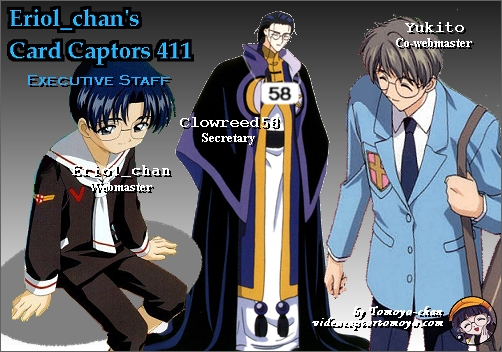 Click here to go to Eriol_chan's Card Captors 411 Staff page