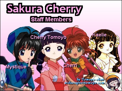 Click here to go to Sakura Cherry's staff page